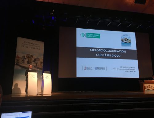 Conferencia en el Congreso de la Sociedad Española de Glaucoma